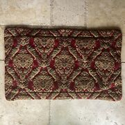 Croscill Home Imperial Empress King Red Gold Sham Rope Trim 37 X 21
