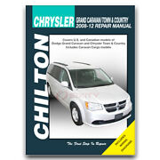 Chilton Repair Manual For 1942-1988 Chrysler Town And Country Car - Shop Vt
