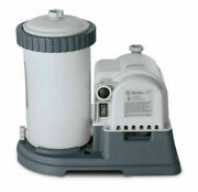 Intex 2500 Gph Replacement Filter Pump Above Ground Swimming Pool Timer New 120v
