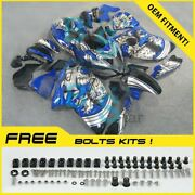 Airbrushed Fairings Bodywork Complete + Tank Cover For Gsx-r1300 08-19 75
