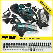 Airbrushed Fairings Bodywork Complete For Gsx-r1300 Hayabusa 1997-2007 A233