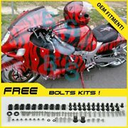 Airbrushed Fairings Bodywork Complete For Gsx-r1300 Hayabusa 1997-2007 96