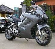 Gray Glossy Abs Fairing With Tank Cover Fit Honda Vfr800 2002-2012 32 A5