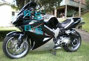 Black Glossy Abs Fairing With Tank Cover Fit Honda Vfr800 2002-2012 39 A5