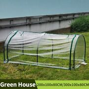 Tunnel Greenhouse Garden Balcony Green House Outdoor Plant Cover Shed With Frame