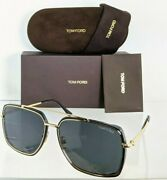 Brand New Authentic Tom Ford Sunglasses Ft Tf 0750-f 01a Lionel Tf750 62mm Frame