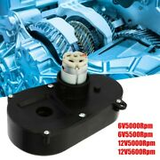 Electric Motor Rs380 Gear Box Steering Gearbox Low-noise For Kids Car 6v5000rpm