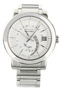 Seiko Spring Drive Stainless Steel On Bracelet Power Reserve Gmt 43mm Snr001