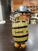 J.chien And Co Wind Up Popeye In A Barrel Made In The Good Old Usa 🇺🇸