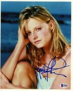 Jodie Foster Young Autographed Signed 8x10 Photo Authentic Bas Beckett Coa