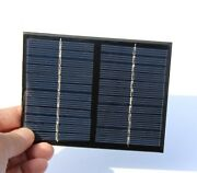 Solar Panel Small Cell Module Epoxy Charger Diy Kit For Cellphones Dc Batteries