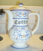 Vintage Coffee Pot And Lid Set. Heritage By Royal Sealy. Circa 1950s Made In Japan