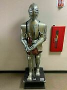 Medieval Spanish Suit Of Armor Authentic Replica Etched Armor