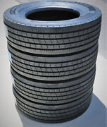 4 New Fortune Far602 245/70r17.5 Load J 18 Ply All Position Commercial Tires