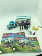 Lego 41125 Friends - Horse Vet Trailer 100 Complete Missing 3 Stickers