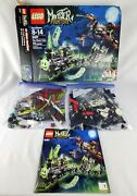 Lego Monster Fighters 9467 The Ghost Train Set W/ Box Instructions And Minifigures