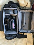 Panasonic Dvd Video Camera Vdr-d230 Camcorder W Accessories And Carrying Case