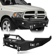 Discovery Ⅱ Full Width Front Bumper W/ Winch Plate Fit 2009-2012 Dodge Ram 1500