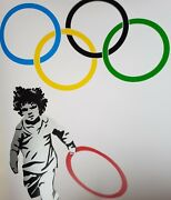 Pure Evil - New Logo For The Favela Looters . Rare Ltd Print As Banksy