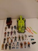 Vintage Gi Joe Action Figures, Vehicles, Weapons And Accessories Big Lot 1980s
