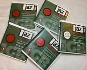 Iomega Jaz Drive Disks 4 Mac / 1 Pc Formatted - 1gb - Lot Of 5 W/ Cases - 10411