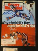 Mike Richter Signed Sports Illustrated Mag Hockey Autograph Jsa 6/20/94 Rangers