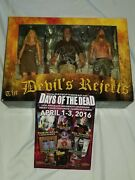 Signed Devils Rejects Showdown Figures Sid Haig Bill Mosley Neca Rob Zombie