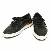Berluti Sneakers Playtime Shoes Leather Black X Brown X White Menand039s Us 8 Japan