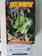 Signed Stan Lee Dc Just Imagine Creating The Dc Universe Omnibus With Coa