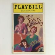 1993 Playbill Ethel Barrymore Theatre Present Linda Lavin The Sisters Rosensweig