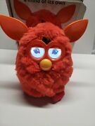 Furby 2012 Hasbro Rare Red Orange -tested Working Clean In Box