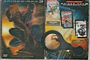 👌 Dvd Exclusive Spiderman 3 Gift Pack 3 Mini Comics 3d Magnifying Glass Rare 👌