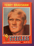 1971 Topps Terry Bradshaw Pittsburgh Steelers 156 Rookie Football Card - Mint