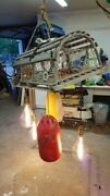 Nautical Themed Lobster Trap Chandelier Hanging Lamp