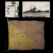 Wwii Imperial Japanese Navy Cruiser Mobile Pacific Fleet Man Overboard Signal