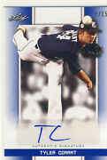 Tyler Conant 2019 Leaf Perfect Game Pg Blue Auto /15 Long Beach St