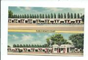 Postcard Post Card Albuquerque New Mexico Nm N M Route 66 Gas Station Motel
