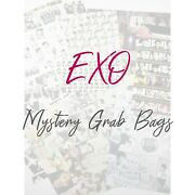 Exo Mystery Grab Bags | [k-pop] Exo Photo Cards, Stickers, Various Goods