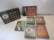 Dean Martin Celebrity Roasts Deluxe Collection 24 Dvd Set Open Box Sealed Disc