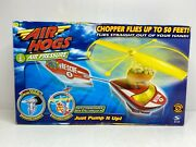 Air Hogs Sky Commander Helicopter Air Pump Flying Toy Brand New In Box