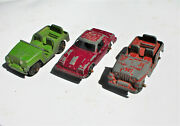 Restorer's Project 3, 1950's Vintage Diecast Tootsietoy Cars Lot 2 Of 11 Lots