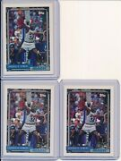 Shaquille Oneal 1992-93 Topps Nba Rookie Card Lot 3 Rc 362 Orlando Magic