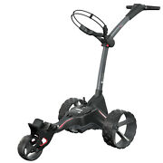 Motocaddy M1 Dhc Electric Foldable 3 Wheel Golf Caddy Cart Red Used