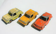 Restorer's Project 3, 1950's Vintage Diecast Tootsietoy Cars Lot 3 Of 11 Lots