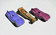 Restorer's Project 3, 1950's Vintage Diecast Tootsietoy Cars Lot 5 Of 11 Lots