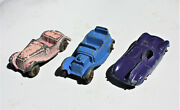 Restorer's Project 3, 1950's Vintage Diecast Tootsietoy Cars Lot 6 Of 11 Lots