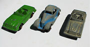 Restorer's Project 3, 1950's Vintage Diecast Tootsietoy Cars Lot 8 Of 11 Lots