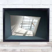Skylight Window Architecture Abstract Geometry Shapes Wall Art Print