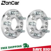 2pc Hubcentric Wheel Spacers Adapters Andbrvbar 5x114.3 Andbrvbar 12x1.25 Andbrvbar 66.1 Cb Andbrvbar 15mm Thick