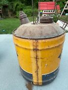 Sunoco Hd Dynalube 5 Gallon Vintage Can